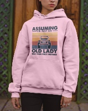 Old Lady Jp Hooded Sweatshirt apparel-hooded-sweatshirt-lifestyle-front-03