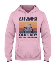 Old Lady Jp Hooded Sweatshirt tile