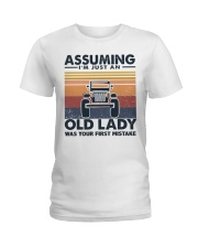 Old Lady Jp Ladies T-Shirt tile