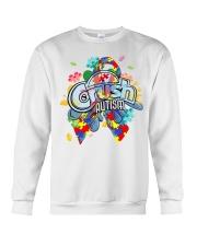 Crush Autism Crewneck Sweatshirt thumbnail