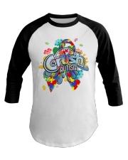 Crush Autism Baseball Tee thumbnail