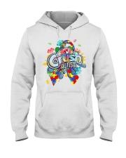 Crush Autism Hooded Sweatshirt thumbnail