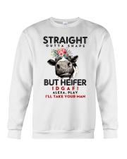 Straight Outta Shape Heifer Crewneck Sweatshirt thumbnail