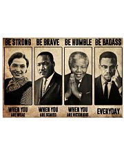 The Famous People Poster Canvas Prints White 24x16 Poster front