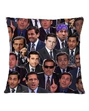 Michael The Office Cushion Square Pillowcase back