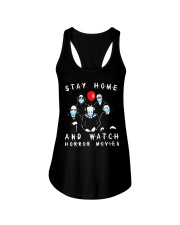 Stay Home - Watch Horror Movies Ladies Flowy Tank thumbnail