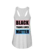 Black Trans Lives Matter  Ladies Flowy Tank thumbnail