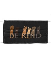 Be Kind Face Mask Cloth face mask front