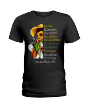 I Am She Ladies T-Shirt front
