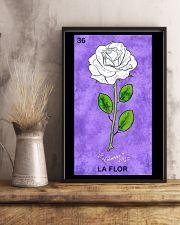 La Flor Poster 11x17 Poster lifestyle-poster-3