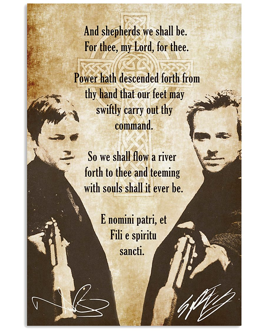 The Boondock Saints Poster 24x36 Poster