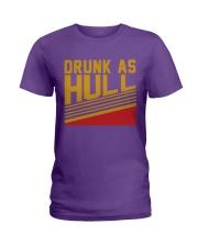 Drunk As Hull Ladies T-Shirt thumbnail