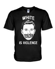 Silence Is Violence V-Neck T-Shirt tile