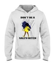 Don't Be A Salty Black Girl Hooded Sweatshirt thumbnail