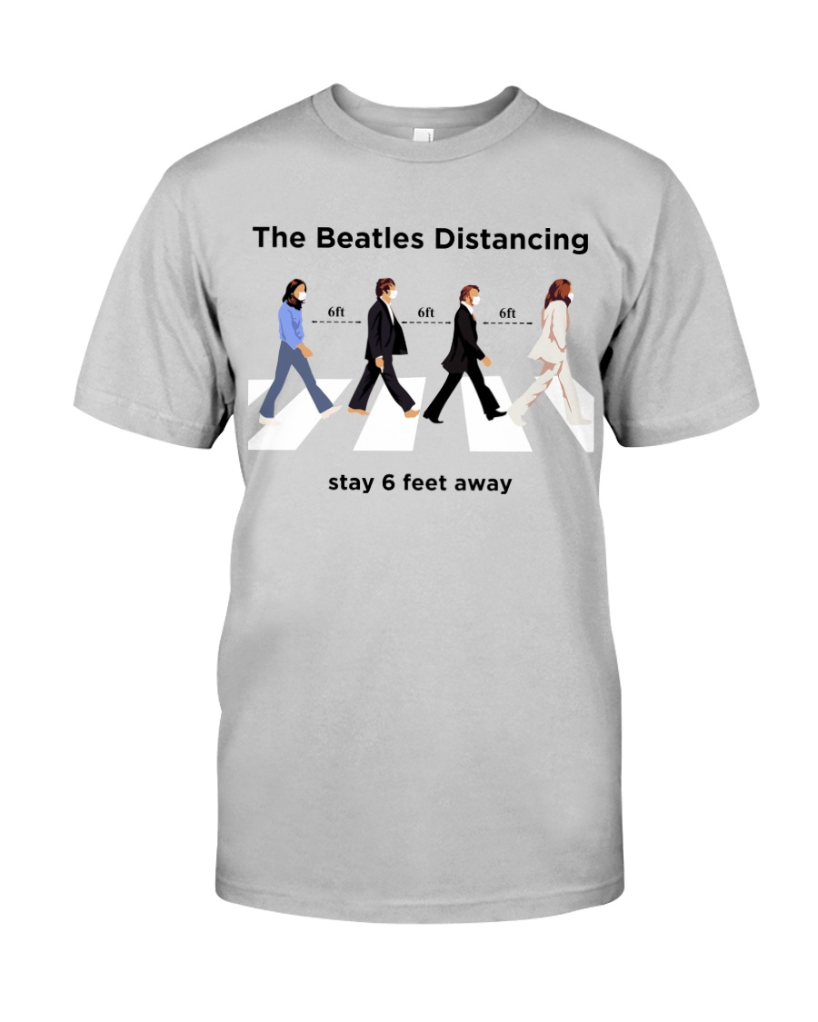 The Beatles Distancing Classic T-Shirt