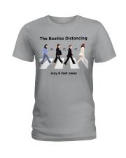 The Beatles Distancing Ladies T-Shirt thumbnail