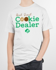 Girl Scout Cookie Dealer  Youth T-Shirt garment-youth-tshirt-front-lifestyle-01