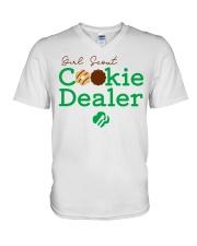 Girl Scout Cookie Dealer  V-Neck T-Shirt tile
