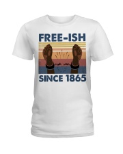 Freeish Since 1865 Ladies T-Shirt thumbnail