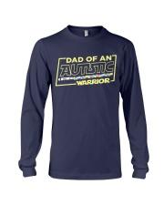 Dad Of An Autistic Warrior Long Sleeve Tee thumbnail