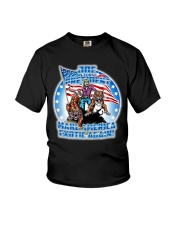 Death Before Pop Country Youth T-Shirt thumbnail