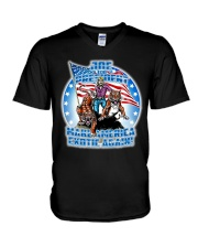 Death Before Pop Country V-Neck T-Shirt thumbnail