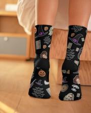 Hocus Pocus Things Crew Length Socks aos-accessory-crew-length-socks-lifestyle-back-01