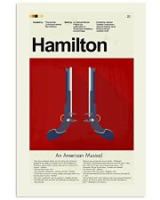 Hamilton An American Musical 11x17 Poster front