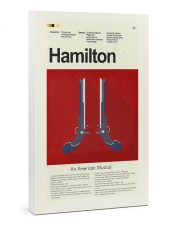 Hamilton An American Musical 24x36 Gallery Wrapped Canvas Prints thumbnail