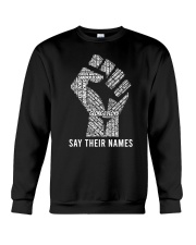 Say Their Names Crewneck Sweatshirt thumbnail