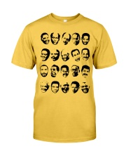 Black TV Dads Classic T-Shirt front