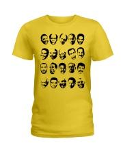 Black TV Dads Ladies T-Shirt tile