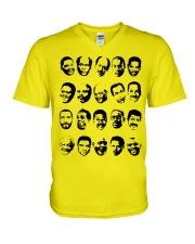 Black TV Dads V-Neck T-Shirt tile