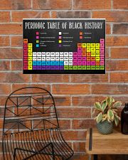 Periodic Table Of Black History Poster Canvas 24x16 Poster poster-landscape-24x16-lifestyle-24