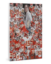 Football Player Gallery Wrapped Canvas Prints tile