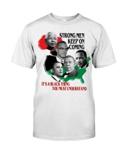 Strong Men Classic T-Shirt front
