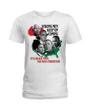 Strong Men Ladies T-Shirt tile