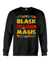 Black Teacher Magic Crewneck Sweatshirt thumbnail