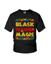 Black Teacher Magic Youth T-Shirt thumbnail