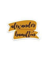 Alexander Hamilton Sticker - Single (Vertical) front