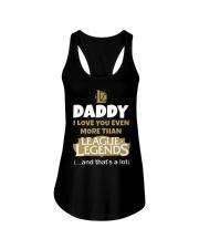 Daddy League Of Legends Ladies Flowy Tank tile