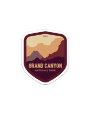 Grand Canyon Sticker - Single (Vertical) front