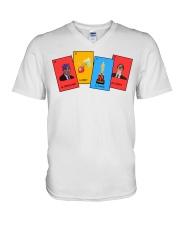 The Office Loteria V-Neck T-Shirt tile
