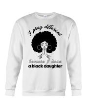 I Have A Black Daughter Crewneck Sweatshirt tile