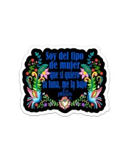 Soy Del Tipo Sticker - Single (Vertical) front