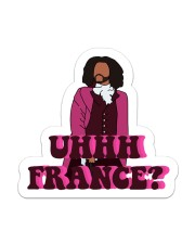 The France Sticker Sticker - Single (Vertical) front