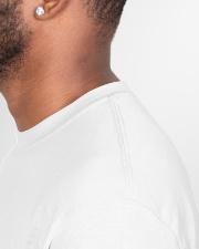Mr Rogers Neighborhood Being Black Classic T-Shirt garment-tshirt-unisex-detail-right-sewing-01
