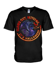 Claws Out Witches V-Neck T-Shirt thumbnail