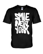 Smile NY V-Neck T-Shirt thumbnail