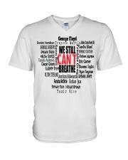 We Still Can't Breathe V-Neck T-Shirt thumbnail